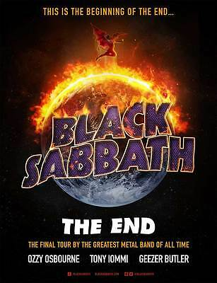 3 Black Sabbath Tickets - Birmingham Genting Arena 2nd February block 4