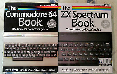 COMMODORE 64 & ZX SPECTRUM Book Ultimate COLLECTOR'S GUIDE From RETRO GAMER New