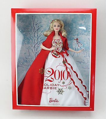 New MATTEL Multi-Color 2010 Holiday Barbie Doll
