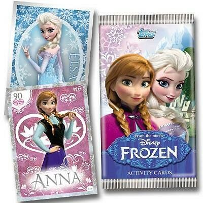 FROZEN ACTIVITY TRADING SWAP CARDS FROM TOPPS UNOPENED NEW CARDS x 5 PACKS