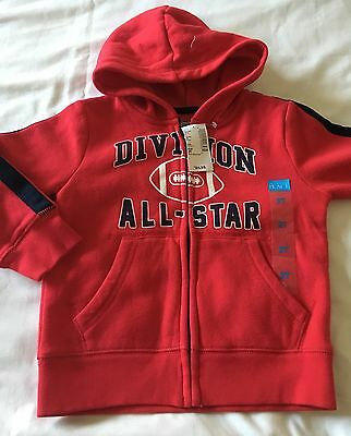 The Children's Place Boy's Long Sleeve Fleece Lined Hoodie 2T NWT