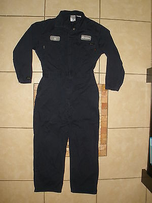 Mens WORKRITE WESTEX nomex FR Fire FLAME RESISTANT work Coveralls Large 46