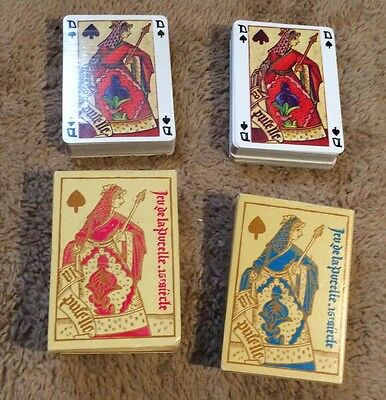 New French Playing Cards 2 Standard Packs