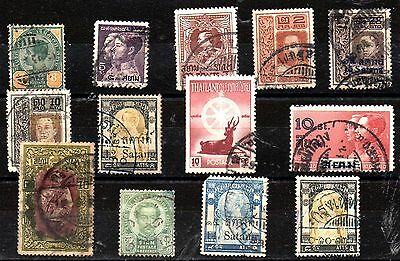 Stamps From Thailand / Siam 1899.