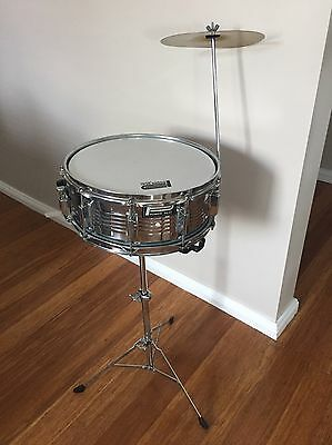 "Powerbeat Snare Drum 14"" X 5.5"" With Cymbal"