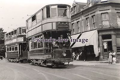 a0607 - Bexley Tram no 25 at Woolwich - photograph