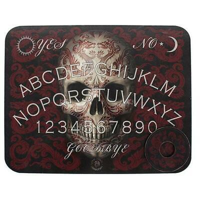 Oriental skull Ouija Board With Planchettes Ghost Hunt Enthusiaths