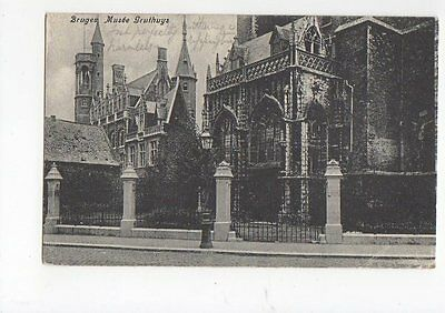 Bruges Musee Gruthuys 1908 Postcard Belgium 0718