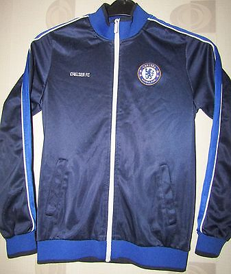 """Chelsea  merchandise track suit style jacket size on tag uk XLboys approx 34"""""""