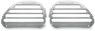 Front Finned Speaker Grilles Covingtons Chrome C0021-C