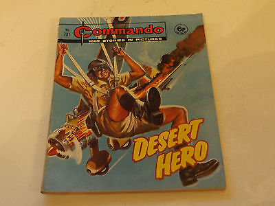 Commando War Comic Number 731,1973 Issue,good For Age,44 Years Old,very Rare.