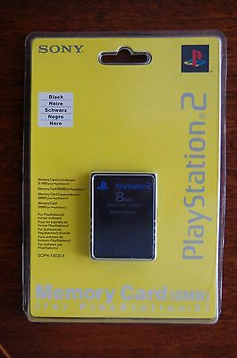 NEW Genuine Sony PlayStation 2 8MB Memory Card SCPH-10020E