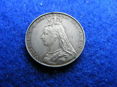 1888 Fourpence Victoria 4d Maundy