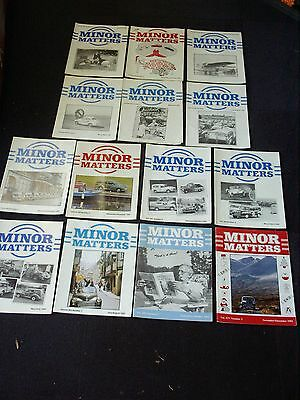 Minor Matters Morris Minor Owners Club Mmoc Magazine For Morris 1000 1990 - 1992