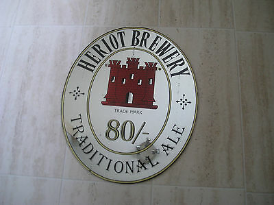 Heriot Brewery Traditional Ale 80/-  Pub Mirror