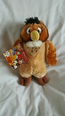Plush owl from winnie the pooh 24cm tall. Official disney store exclusive