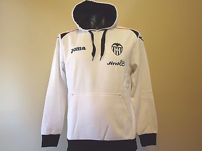 Valencia Authentic Hoody Jumper White Adults Medium New