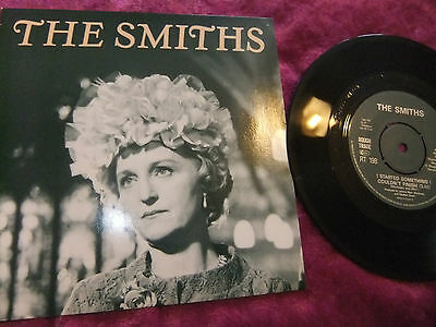 "The Smiths I Started Something I Couldn't Finish. 7"" Single Record. N/m. N/m."
