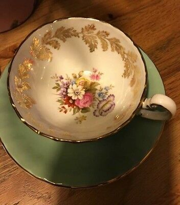 Stunning Collectors Aynsley Cup & Saucer