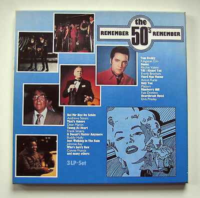 REMEMBER THE 50's / 3 LP-BOX / 19?? / SCANA 9020/3