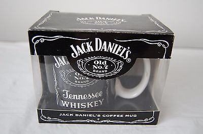 "NEW Jack Daniels Coffee Mug ""Old No. 7 Brand Tennessee Whiskey"""