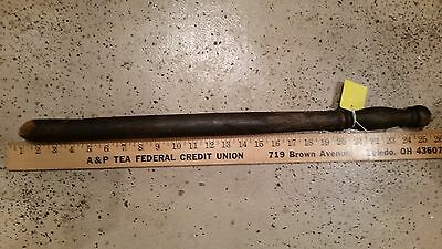 24 inch wood tire billy thumper vintage used w wear from testing
