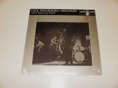 Cecil Taylor / Blue Neidlinger - New York City R&b - Lp 1981 Jazzman Made In Usa