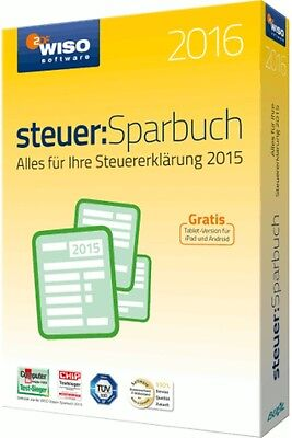 WISO Steuer-Sparbuch 2016  (PC Software)