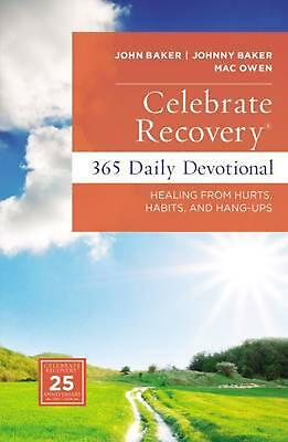 Celebrate Recovery Daily Devotional by John Baker Hardcover Book (English)