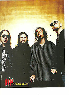 System of a Down, Full Page Pinup