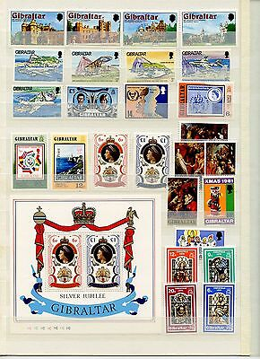 GIBRALTAR MNH ** Stamps Collection   -PK5