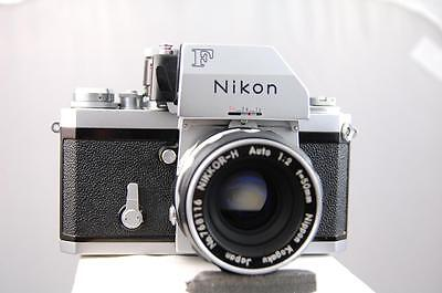 Nikon F Photomic camera with 50mm f2 Nikkor-H lens, beautiful.