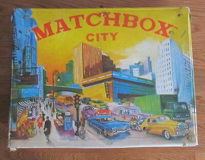 Vintage Matchbox City Play Set For Parts Or Repair