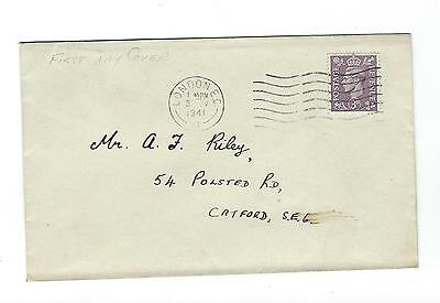 3d Pale Violet SG 490 First Day Cover