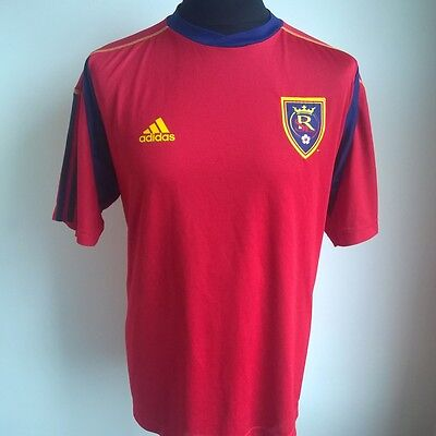 Real Salt Lake 2010 Home Adidas Football Shirt Jersey Size Adult L