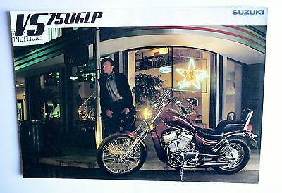 Suzuki Vs750 Glp Sales Brochure