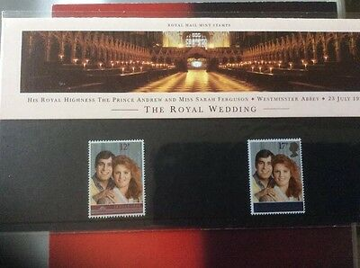 Commerative Stamps 1986 Prince Andrew &Sarah Ferguson Wedding