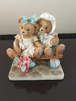 Cherished Teddies - 'TRACIE & NICOLE' Figurine ('Side By Side With Friends')