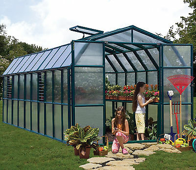 Rion Greenhouses Grand Gardener 8 Ft. W x 20 Ft. D Commercial Greenhouse