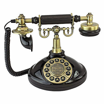 Design Toscano 1929 Reproduction Brittany Neophone Telephone