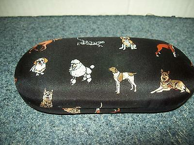 Nicole Miller Eyeglass Case with All Kinds of Dogs