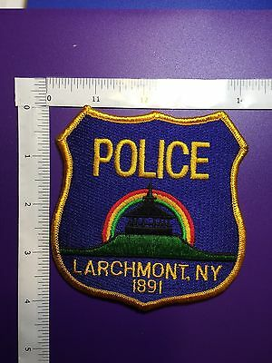 Larchmont New York Police  Shoulder Patch