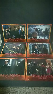 Lot of 8 Urban Legends: Final Cut Lobby Cards. Jennifer Morrison, Eva Mendes