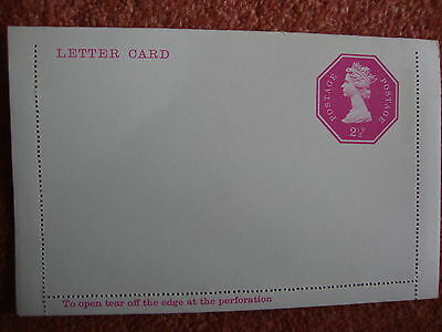 Unused Letter Card