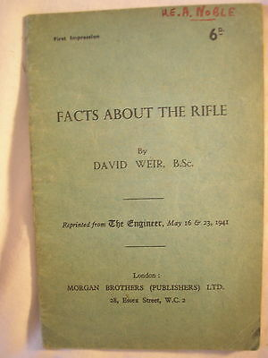 Rifle Training Manual British Army 1943 Weapons Military History