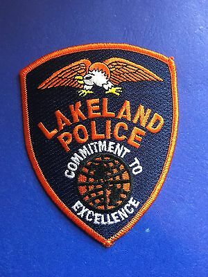 Lakeland Florida Police  Shoulder Patch