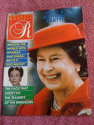 Vintage Royalty Magazine. Volume 5 No.9.duchess Of Windsor Funeral. Queen At 60!