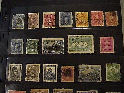 Chile -  Large Mint & Used Selection, Little Duplication