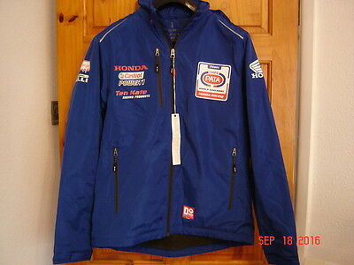 Genuine Pata Honda team Technical coat HRC Ten Kate size medium