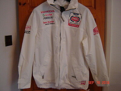 Genuine Pata Honda team Rain coat HRC Ten Kate size medium